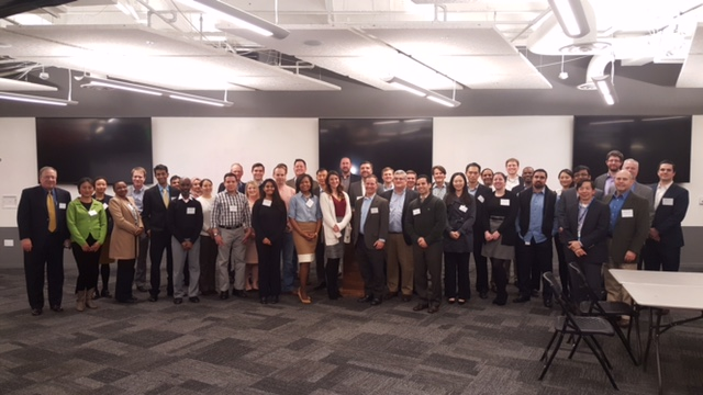 NAPP sponsored and helped the Atlanta Patent Practitioner Professionals celebrate their inaugural meeting on March 14, 2017. Anne Fahrni was one of the founders and organizers. Other NAPP members present were David Ladner and Jeff Wendt.